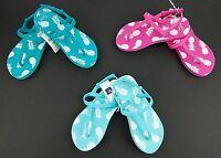 Gap Kids Girls Flip-flop Sandals Pineapple Print 3 Color Choices Size 12/13