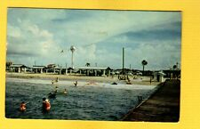 Pensacola Beach,FL Florida, swimming in quiet waters of the Sound