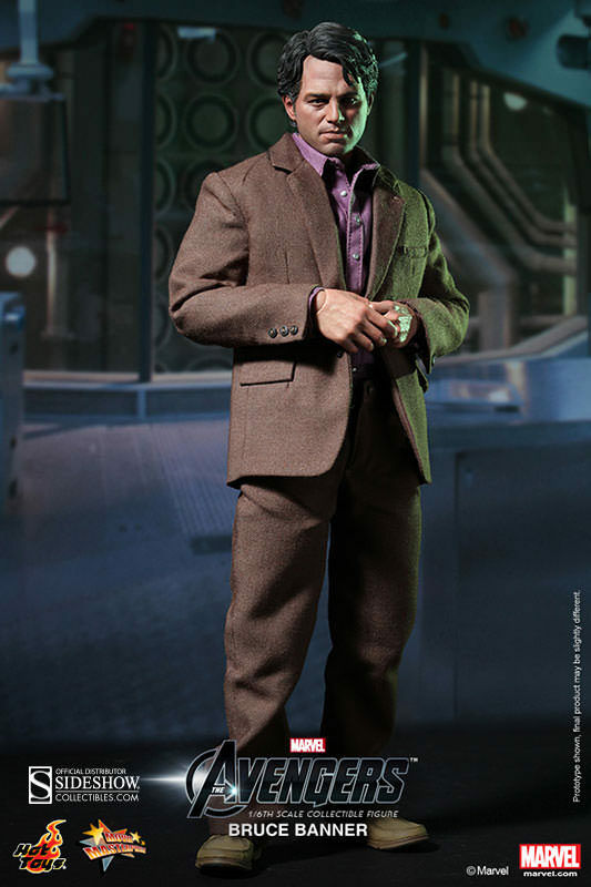 The Avengers Hulk BRUCE BANNER (Mark Ruffalo)_HOT TOYS 1 6 6 6 Scale MMS229_NRFB 9e0af2
