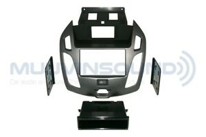 Metra 99-5831G Gray Single//Double DIN Dash Kit for 2014-up Ford Transit Connect