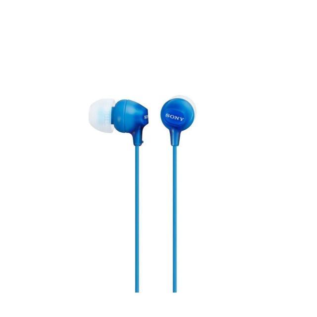 Sony EX 15LP - Auriculares intraurales, color azul