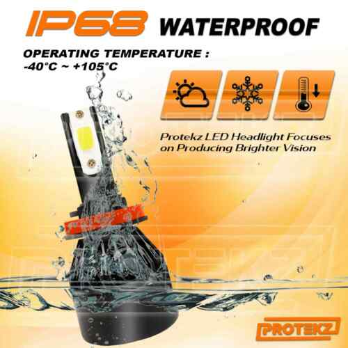 Protekz LED Headlight Kit 2 Bulbs CREE H11 6000K for 2015-2019 Subaru Outback