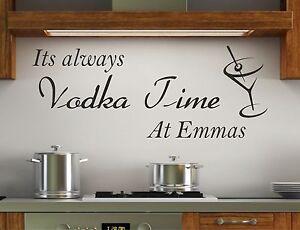 cafetería cocina Pared Arte Calcomanía Vinilo Sticker diversión Kitchen art letras