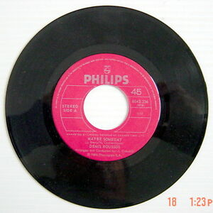 ONE-1976-039-s-45-R-P-M-RECORD-DEMIS-ROUSSOS-I-039-M-GONNA-FALL-IN-LOVE-MAYBE-SOMED