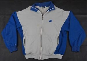 7ab3682ae1783 Rare Vintage NIKE Spell Out Swoosh Track Jacket Sweatshirt 90s Italy ...