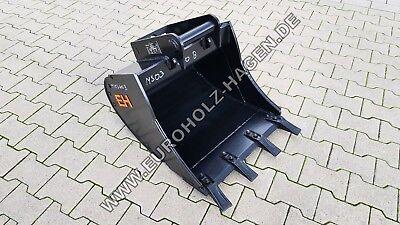 Baumaschinenteile & Zubehör Löffel & Schaufeln Selbstlos Tieflöffel Ms03 600 Mm Baggerlöffel Schaufel Minibagger Ms 03 60 Cm 3-4 T 60cm Neueste Technik