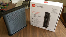 BRAND NEW MOTOROLA MG7550 CABLE MODEM AND AC1900 WIFI WIRELESS ROUTER COMBO