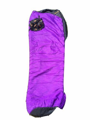 Black /& Purple Grade 2 Snugpak 5 Seasons Softie 12 Arctic Sleeping Bag