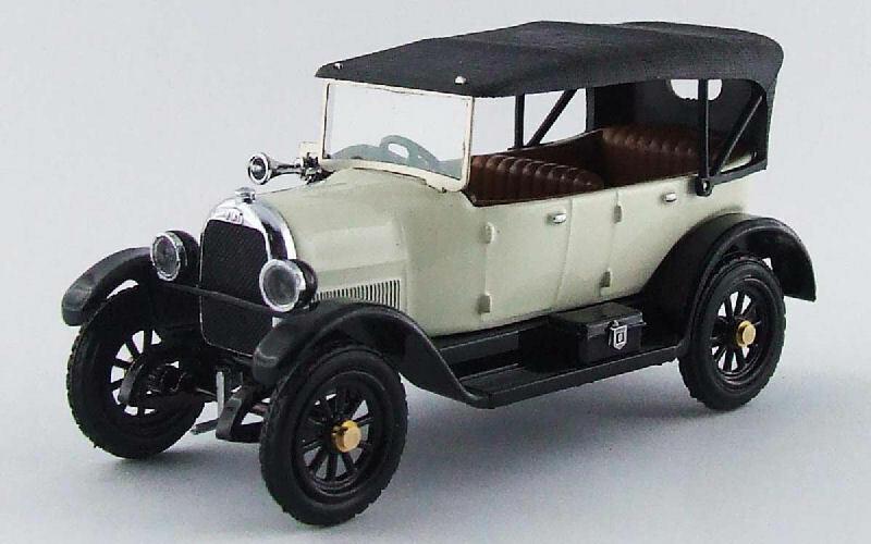 Fiat 501 Sport 191926 bianca 1 43 modello RIO