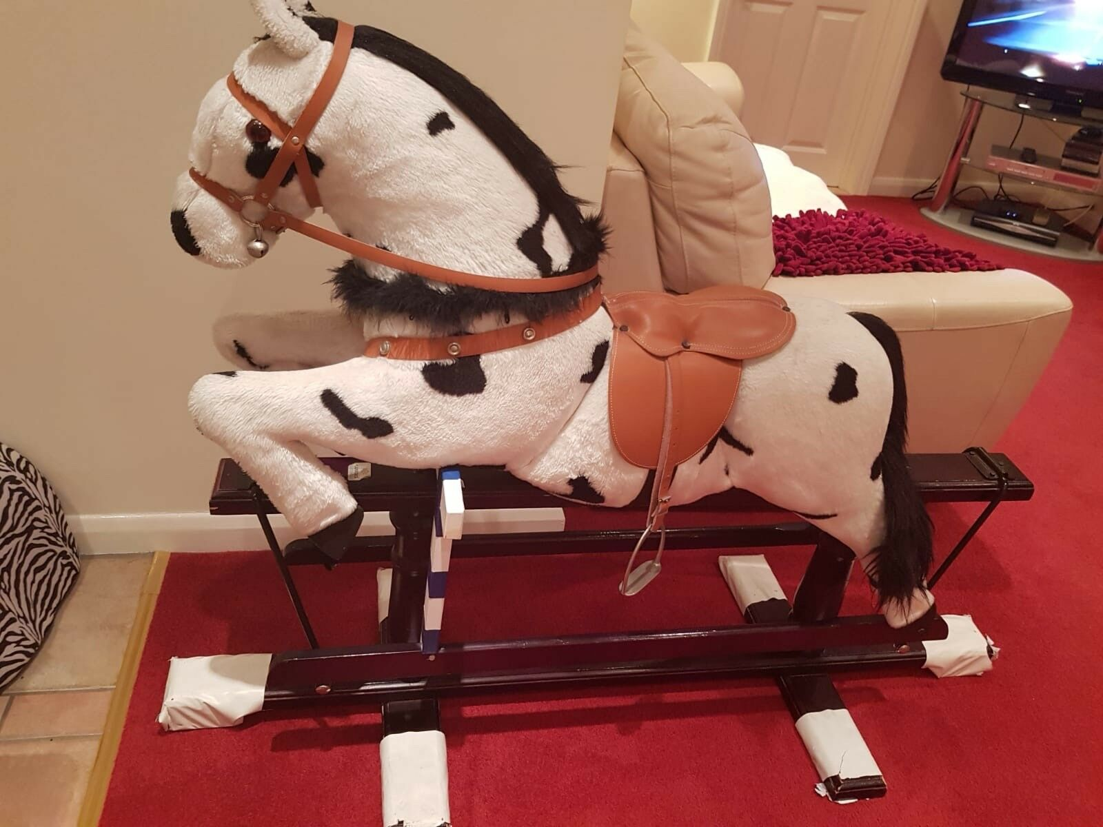 Rocking Horse by Carousel - excellent condition with all original features