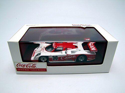 True Scale 1 43 Lola t810 Fairlady Z  30 1985 WEC Japón Canon Coca Cola