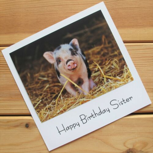 SISTER Happy Birthday cards