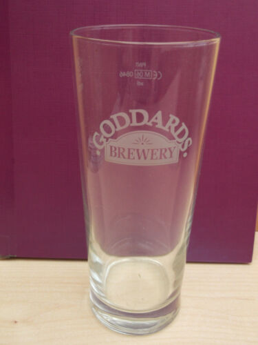 Isle of Wight Goddards brewery pint glass