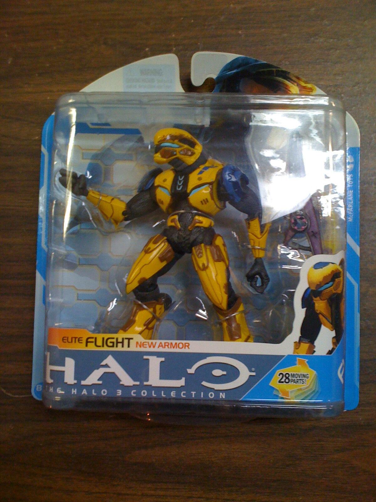 Mcfarlane Halo 3 Collection YELLOW    Elite Flight New Armor NEW Free Ship US 87fa88