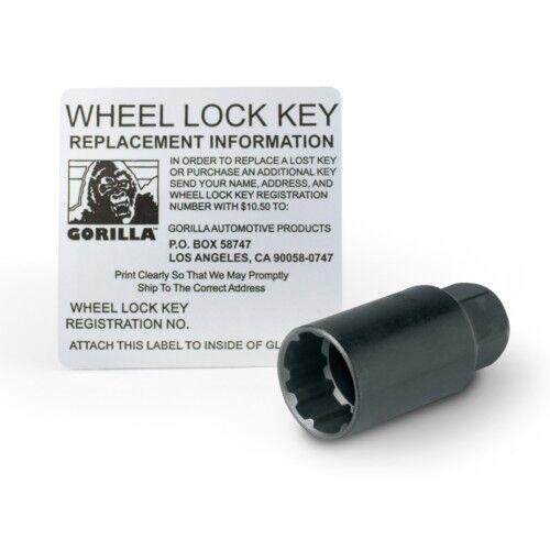 4 Pc GORILLA DODGE CHARGER LOCKING LUGS CUSTOM WHEEL LOCKS 14x1.5 # 71641GM