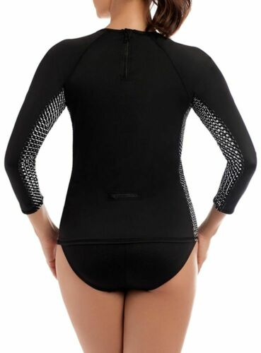 mouwen Lock Guard Separates Swim Grid Top Miraclesuit Msp Active Rash Lange 2018 HqwgOpnp1