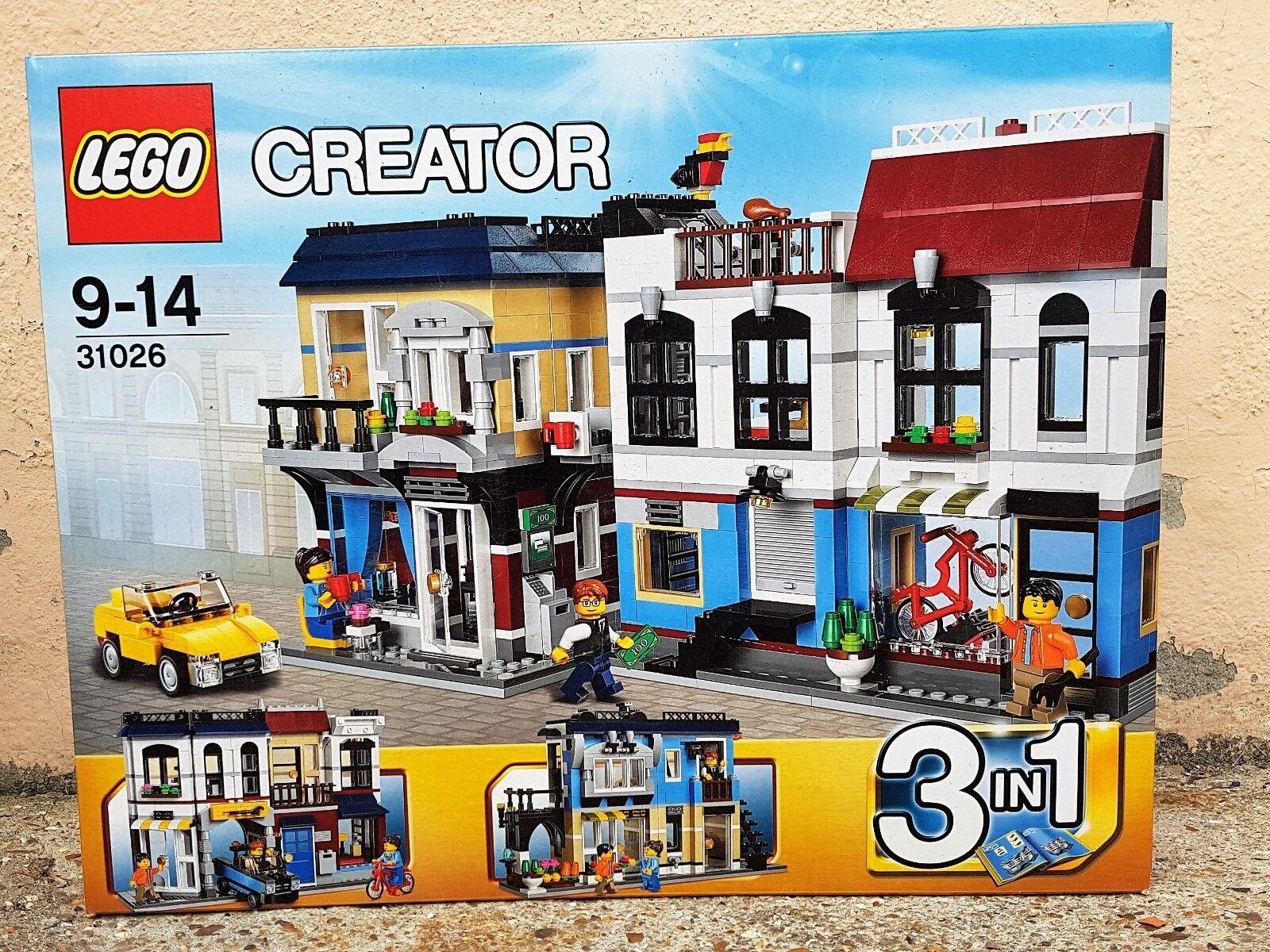 LEGO Creator 31026 Magasin de vélo et café   Bike Shop & Cafe Boîte neuve