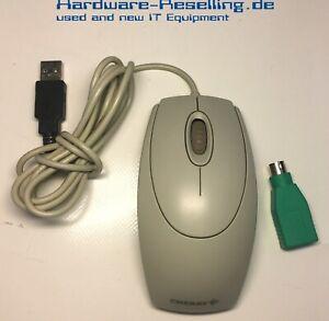 CHERRY Wheel Mouse M-5400-R optical M-5400 Hellgrau USB & PS2 PS/2 PS-2