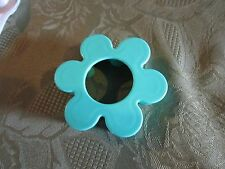 Fisher Price Fun with Food Rolling Dough Cookie Cutter baking rollin teal flower