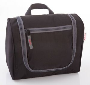 Travelite Travel Kit Cosmetic Bag L Kulturbeutel Tasche Schwarz Herren-accessoires