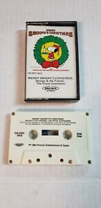 Vintage-Merry-Snoopy-039-s-Christmas-Audio-Tape-Snoopy-and-the-Royal-Guardsmen-1980