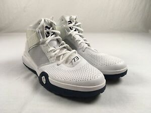 7755035380ef Image is loading NEW-adidas-D-Rose-7-White-Basketball-Shoes-