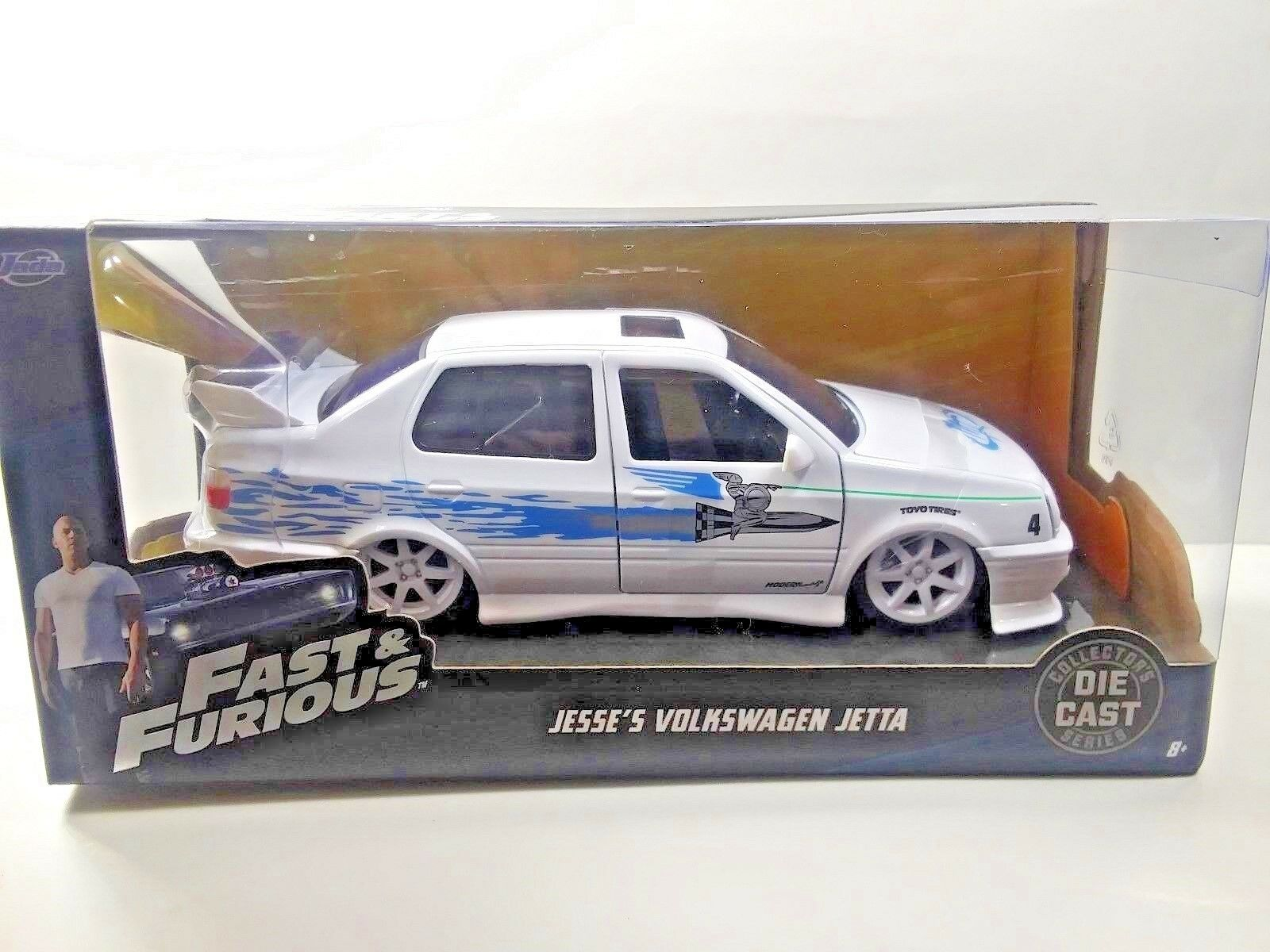 Fast & & & Furious Jesse's Volkswagen White Diecast 1 24 Scale Collectors Series Car 095bba