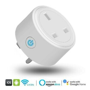 Wireless Wifi Smart Plug zócalos toma de alimentación para Amazon...