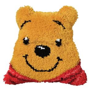 Vervaco Loquet Crochet Coussin Avant Kit-Winnie l/'Ourson-PN-0014643