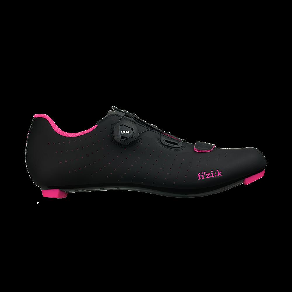 Nouveau Fizik Tempo R5 OverCurve chaussures pour le cyclisme, Noir Rose Fluo, EU36-40