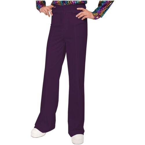 Hommes 70 S Disco Dance Fever bellbottom Bell Bas Costume Pantalon samedi soir