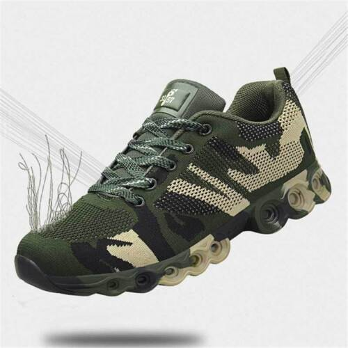 Mens Athletic Army Camo Running Sport Shoes Sneakers Casual Lace up Mesh New