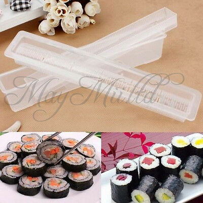 Sushi Long Roll Rice Maker Japanese Mould Roller Bento Mold Kitchen DIY Tool O