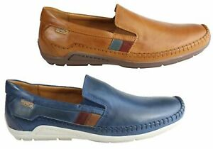 NEW-PIKOLINOS-AZORES-MENS-LEATHER-SLIP-ON-COMFORTABLE-SHOES-MADE-IN-SPAIN