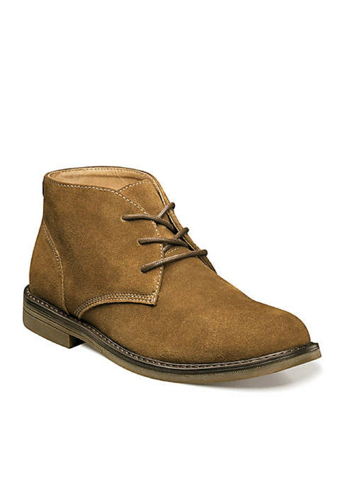 NUNN BUSH Men's 'Lancaster' Camel Suede Chukka Boots Sz. 10.5 M  NIB