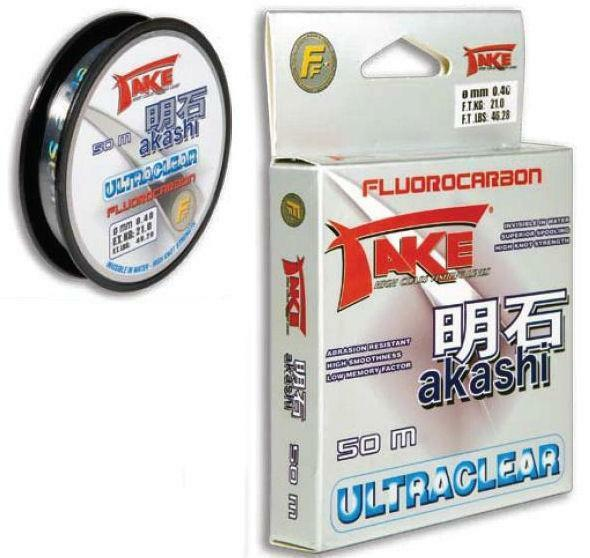 Lineaeffe Take Akashi Fluorocarbon 225m 0,25mm 10,0kg ultraclear