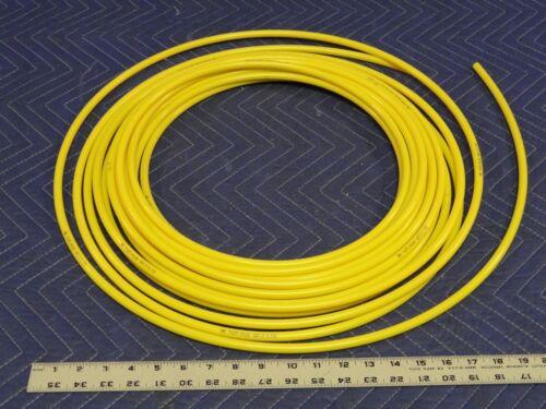 SMC Pneumatic Tubing T1075Y-20 Nylon YLW 10.0 OD x 7.5mm ID QTY-5 ft//unit C52