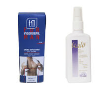 VIGOR MENS BODY CHEST BACK LEG HAIR REMOVAL PRODUCTS + MINIMISER REDUCES GROWTH
