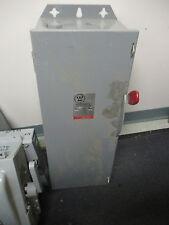 Westinghouse Hun323 100 Amp 240 Volt 3p4w Vintage Disconnect New S
