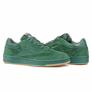 bcd951e97ef Reebok Men s Club C 85 SG Classic Sneaker (Washed Jade White-Gum ...