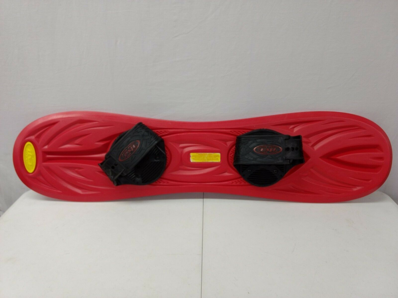 44  ESP Red Plastic Youth Snow Board 95 pound Limit