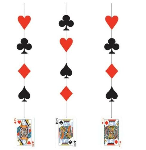 CARD NIGHT Party Range CP Tableware Balloons Decorations Supplies Poker
