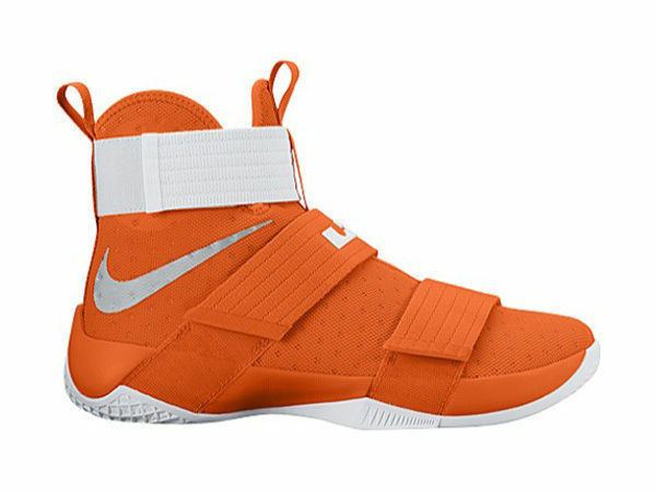 new products e3282 a36a9 Men s Nike Lebron Soldier 10 TB Promo 856489 883 Shoes Size 16 Orange for  sale online   eBay