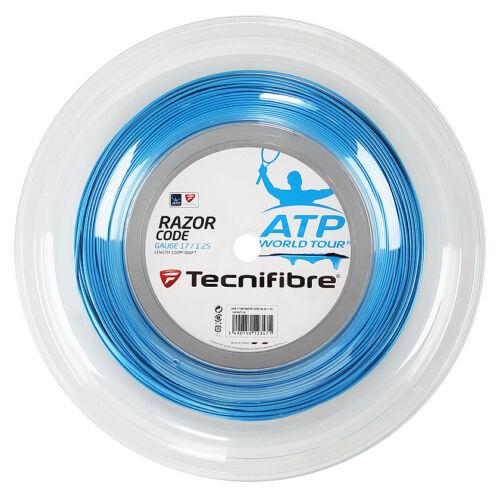 TECNIFIBRE Razor Code 1.25 mm 17 Tennis Stringhe 200m REEL