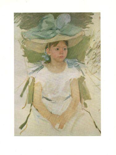 "1977 Vintage IMPRESSIONISM /""THE DAUGHTER OF ALEXANDER CASSATT/"" COLOR Lithograph"