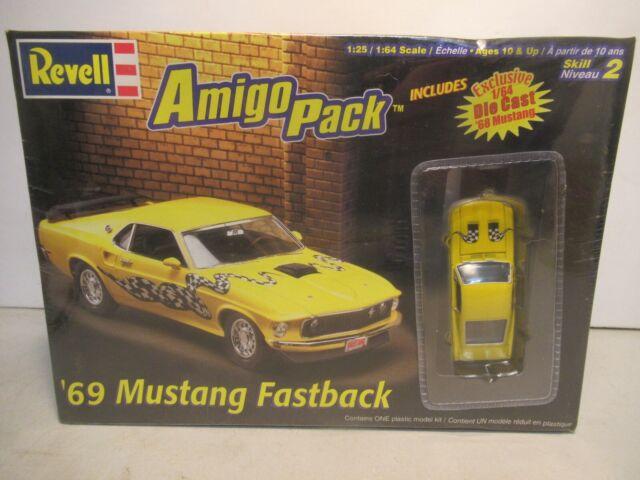 Revell Amigo Pack 69 Mustang Fastback Model Car Kit For Sale Online Ebay