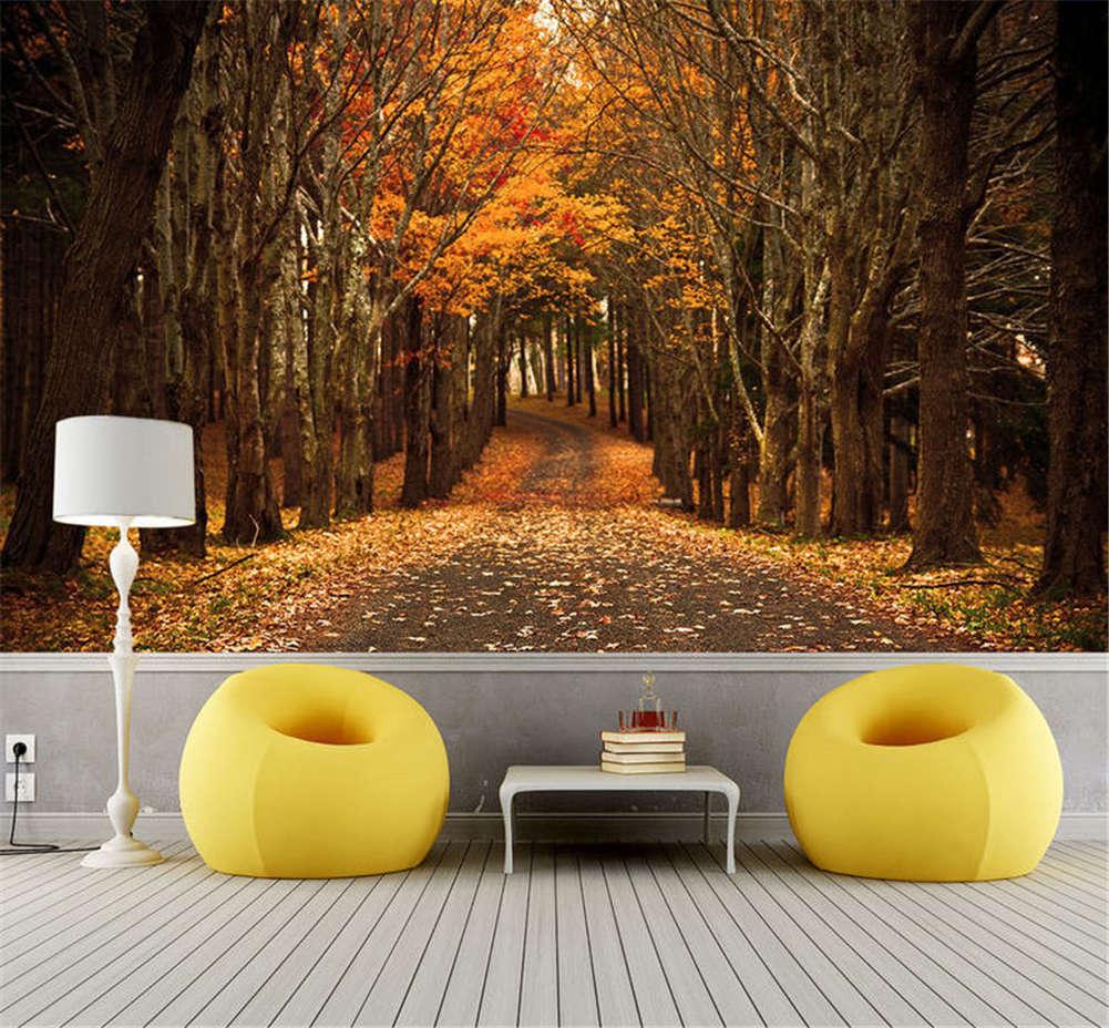 Vacant Feasible Tree 3D Full Wall Mural Photo Wallpaper Printing Home Kids Decor