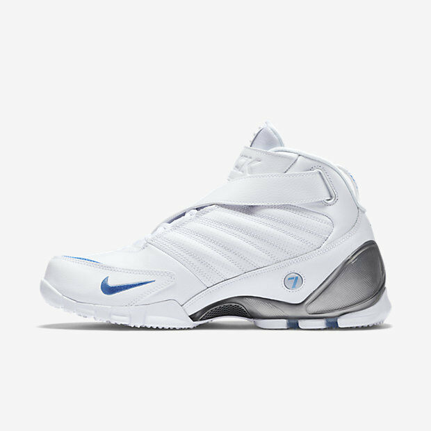 Nike air Zoom Vick III 3 White 832698-100 University blueee Metallic Silver white