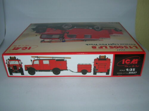 ICM L1500S LF 8 German Light Fire Truck 1:35 Bausatz Model Kit 35527 Feuerwehr