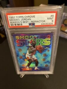 1997-Topps-Chrome-Michael-Jordan-Seasons-Best-Refractor-PSA-9